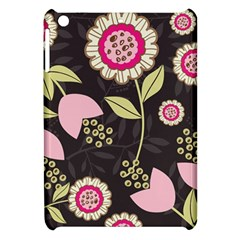 Flowers Wallpaper Floral Decoration Apple Ipad Mini Hardshell Case by Nexatart