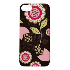 Flowers Wallpaper Floral Decoration Apple Iphone 5s/ Se Hardshell Case by Nexatart