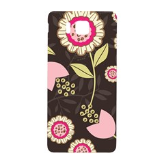 Flowers Wallpaper Floral Decoration Samsung Galaxy Alpha Hardshell Back Case by Nexatart
