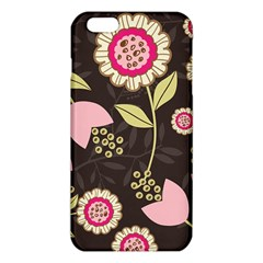 Flowers Wallpaper Floral Decoration Iphone 6 Plus/6s Plus Tpu Case
