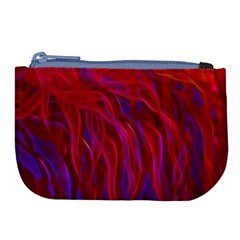 Background Texture Pattern Large Coin Purse by Nexatart