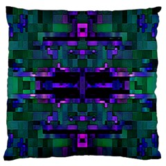 Abstract Pattern Desktop Wallpaper Large Flano Cushion Case (one Side)