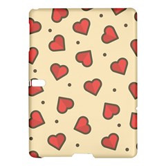 Design Love Heart Seamless Pattern Samsung Galaxy Tab S (10 5 ) Hardshell Case  by Nexatart