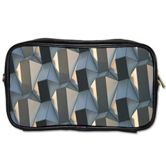 Pattern Texture Form Background Toiletries Bags by Nexatart
