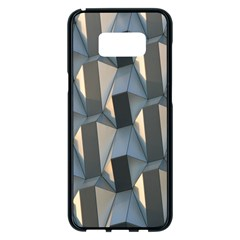 Pattern Texture Form Background Samsung Galaxy S8 Plus Black Seamless Case