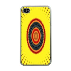 Art Decoration Wallpaper Bright Apple Iphone 4 Case (clear) by Nexatart