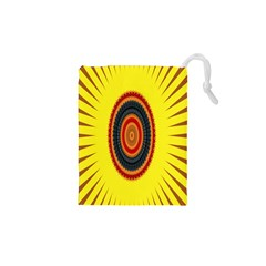 Art Decoration Wallpaper Bright Drawstring Pouches (xs)  by Nexatart