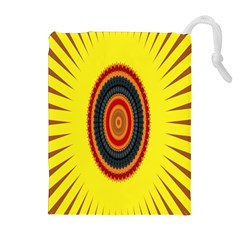 Art Decoration Wallpaper Bright Drawstring Pouches (extra Large)