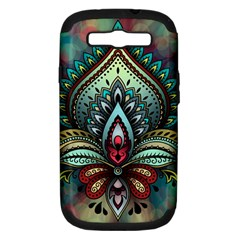 Decoration Pattern Ornate Art Samsung Galaxy S Iii Hardshell Case (pc+silicone) by Nexatart