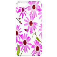 Pink Purple Daisies Design Flowers Apple Iphone 5 Classic Hardshell Case