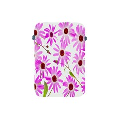Pink Purple Daisies Design Flowers Apple Ipad Mini Protective Soft Cases