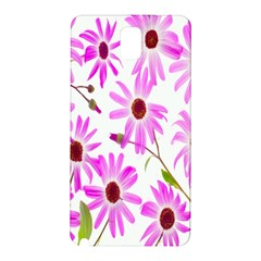 Pink Purple Daisies Design Flowers Samsung Galaxy Note 3 N9005 Hardshell Back Case