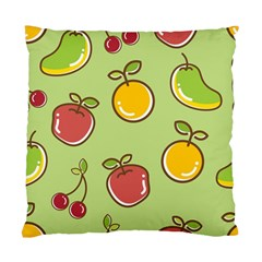 Seamless Pattern Healthy Fruit Standard Cushion Case (two Sides)