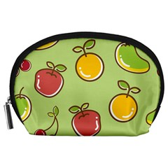 Seamless Pattern Healthy Fruit Accessory Pouches (large)