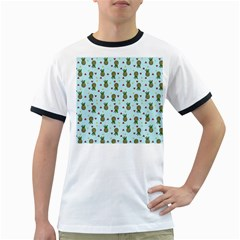 Pineapple Watermelon Fruit Lime Ringer T Shirts
