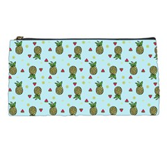 Pineapple Watermelon Fruit Lime Pencil Cases by Nexatart