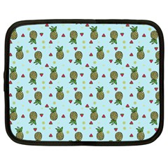 Pineapple Watermelon Fruit Lime Netbook Case (xl)  by Nexatart