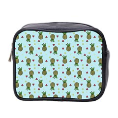 Pineapple Watermelon Fruit Lime Mini Toiletries Bag 2 Side by Nexatart