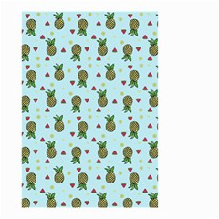 Pineapple Watermelon Fruit Lime Small Garden Flag (two Sides) by Nexatart