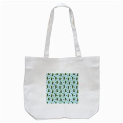 Pineapple Watermelon Fruit Lime Tote Bag (white)