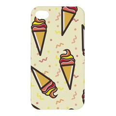 Pattern Sweet Seamless Background Apple Iphone 4/4s Premium Hardshell Case