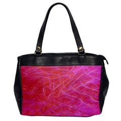 Pink Background Abstract Texture Office Handbags by Nexatart