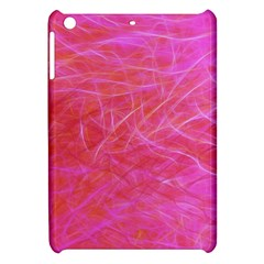 Pink Background Abstract Texture Apple Ipad Mini Hardshell Case by Nexatart