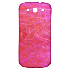 Pink Background Abstract Texture Samsung Galaxy S3 S Iii Classic Hardshell Back Case