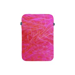 Pink Background Abstract Texture Apple Ipad Mini Protective Soft Cases by Nexatart
