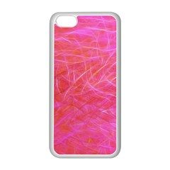 Pink Background Abstract Texture Apple Iphone 5c Seamless Case (white) by Nexatart
