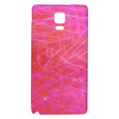 Pink Background Abstract Texture Samsung Note 4 Hardshell Back Case