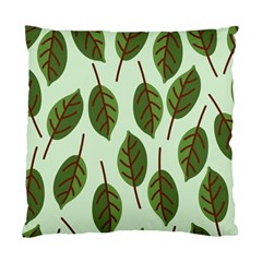 Design Pattern Background Green Standard Cushion Case (two Sides) by Nexatart