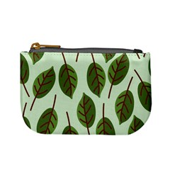 Design Pattern Background Green Mini Coin Purses by Nexatart