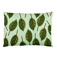 Design Pattern Background Green Pillow Case (two Sides)