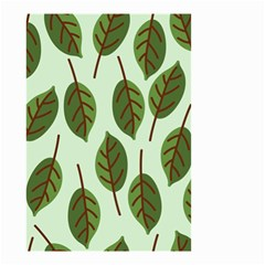 Design Pattern Background Green Small Garden Flag (two Sides) by Nexatart