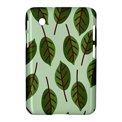 Design Pattern Background Green Samsung Galaxy Tab 2 (7 ) P3100 Hardshell Case  by Nexatart