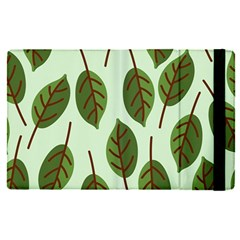 Design Pattern Background Green Apple Ipad Pro 12 9   Flip Case