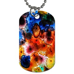 Ornament Color Vivid Pattern Art Dog Tag (one Side)