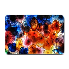 Ornament Color Vivid Pattern Art Small Doormat