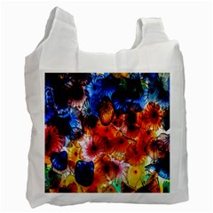 Ornament Color Vivid Pattern Art Recycle Bag (one Side)
