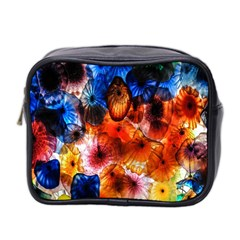 Ornament Color Vivid Pattern Art Mini Toiletries Bag 2 Side