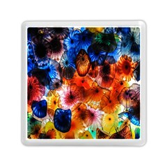 Ornament Color Vivid Pattern Art Memory Card Reader (square)