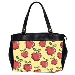 Seamless Pattern Healthy Fruit Office Handbags (2 Sides)  by Nexatart