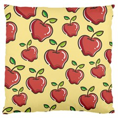 Seamless Pattern Healthy Fruit Large Cushion Case (two Sides) by Nexatart