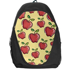 Seamless Pattern Healthy Fruit Backpack Bag by Nexatart