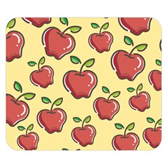 Seamless Pattern Healthy Fruit Double Sided Flano Blanket (small)