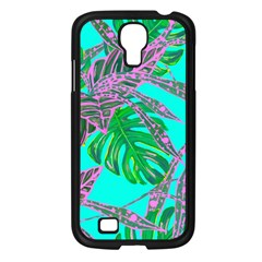 Painting Oil Leaves Nature Reason Samsung Galaxy S4 I9500/ I9505 Case (black) by Nexatart