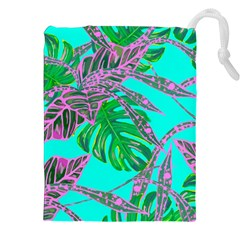 Painting Oil Leaves Nature Reason Drawstring Pouches (xxl) by Nexatart