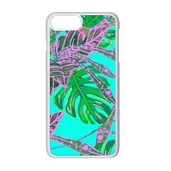 Painting Oil Leaves Nature Reason Apple Iphone 8 Plus Seamless Case (white) by Nexatart