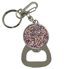 Pattern Abstract Decoration Art Bottle Opener Key Chains